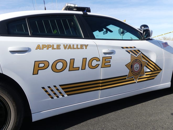 Mark James Jenkins, 32, was arrested Friday after leading a sheriff's deputy on a high-speed chase through Apple Valley, authorities said.