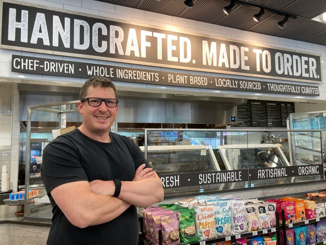 Chef Josh Smith, vice president of Alltown Fresh at Global Partners LP, said he wanted to bring the fresh food offerings you find on highways in Europe to the East Coast.