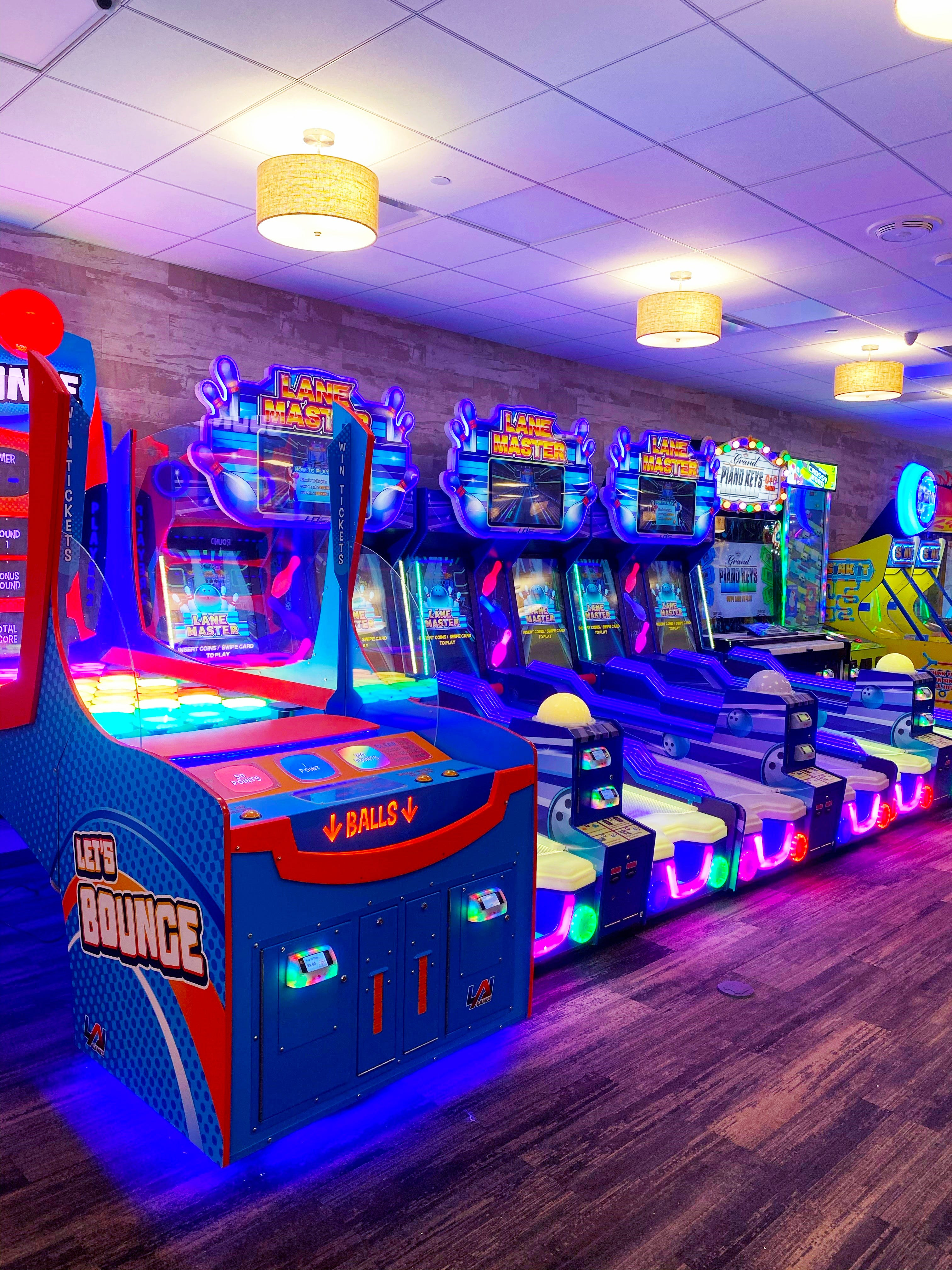 The arcade at Fantasy Island Amusement Park in Beach Haven has been upgraded in time for the 2021 season.
