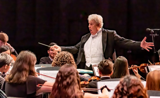 """Maestro Mark Nelson will conduct the Space Coast Symphony Youth Orchestra during """"Musical Passages""""May 16 in Satellite Beach."""