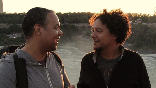 Ilmar Gavilán and Aldo López-Gavilán during their 2016 reunion in the United States.