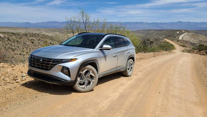 The 2022 Hyundai Tucson comes in standard FWD with AWD optioned. A hybrid and plugin-hybrid model are also available.