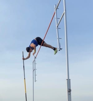 Castle's Parker Speth has cleared 15 feet, 1 inch in the pole vault, which places him among the state leaders.