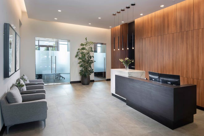 Theory Design has unveiled the interior of its and Seagate's 13,000-square-foot, two-story corporate office. The open-concept, collaborative facility is located at 9921 Interstate Commerce Drive in Fort Myers.