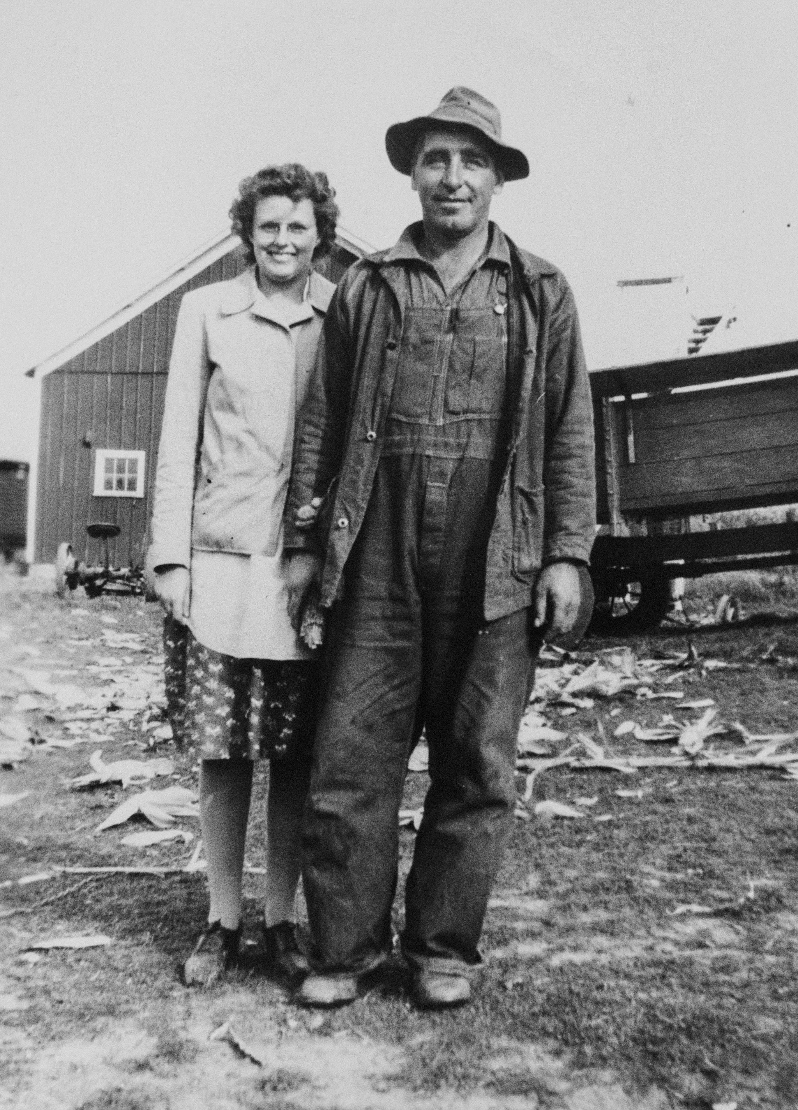 Fran and George Mehrkens, Todd Mehrkens' grandparents, are shown in this family photo from the early 1930s.