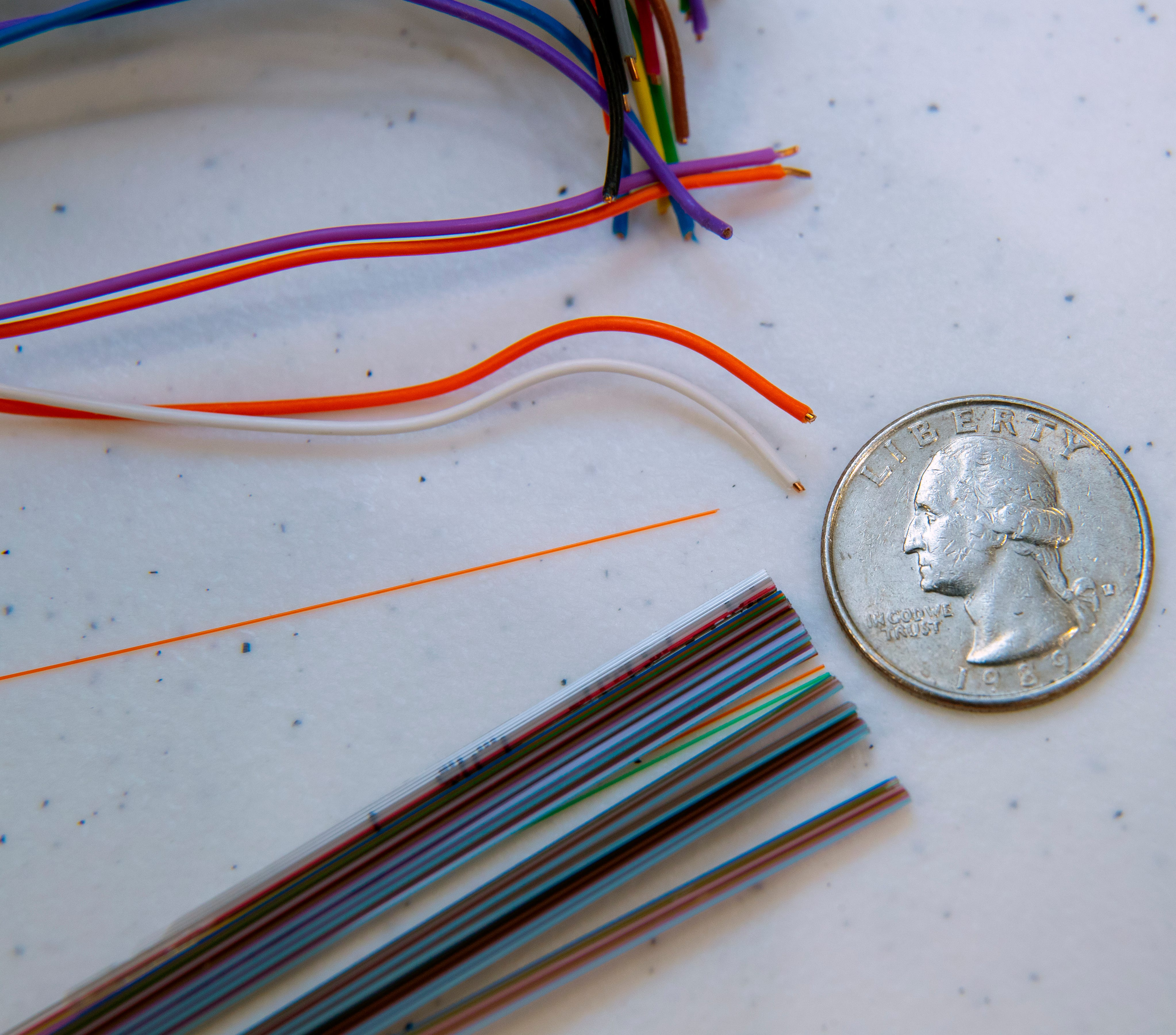 A very thin single strand of fiber-optic cable can support ultra-fast uploads and downloads of 1,000 megabits per second. By comparison, the copper wires would only support a small fraction of those speeds.