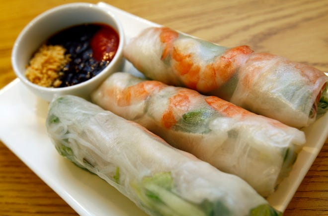 Vietnamese spring rolls are among the many dishes Milwaukee-area diners will find when dining out during Asian Restaurant Week, May 16 to 22.