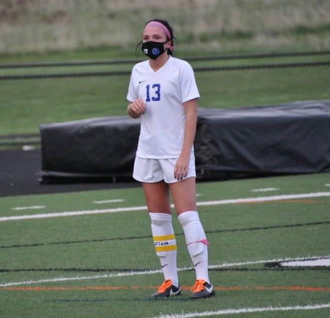 Kennedy Hyde has been on Salem's varsity soccer team since her freshman year.