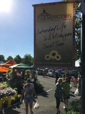 The Farmington Farmers Market opens its 28th season this Saturday, May 8.