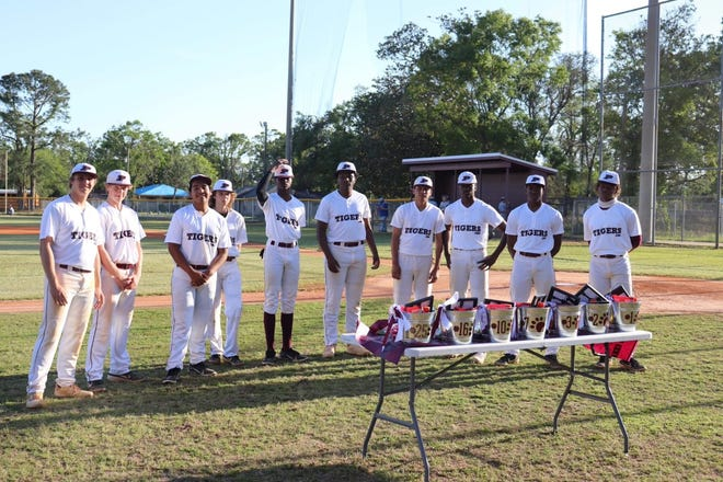 Members of the 2021 Pensacola Tigers baseball team pose in an undated photo. PHS is set to make hires for a new baseball and softball head coach in May 2021.
