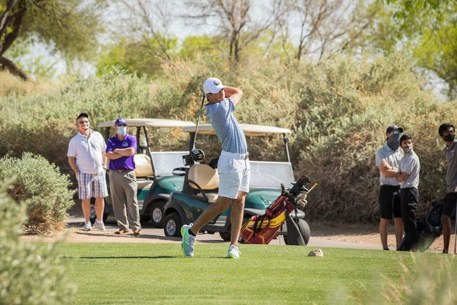 Bagel LaGatta is the No. 3-ranked golfer in Arizona in Division III. He'll lead Valley Christian's golf team Monay and Tuesday in the state tournament. Photo courtesy of Valley Christian.