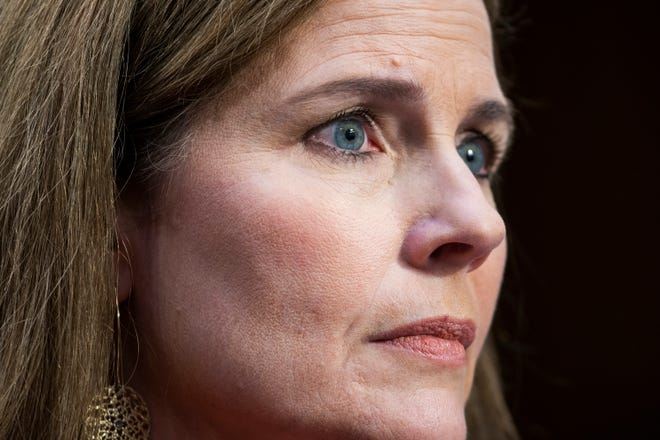 Justice Amy Coney Barrett. (Jim Lo Scalzo/Pool/Getty Images)