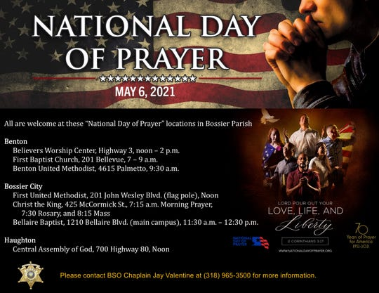 National Day of Prayer on May 6