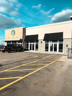 Sweet Cheeks self-serve ice cream shop will be located next to Starbucks on the corner of 69th Street and Louise Avenue.