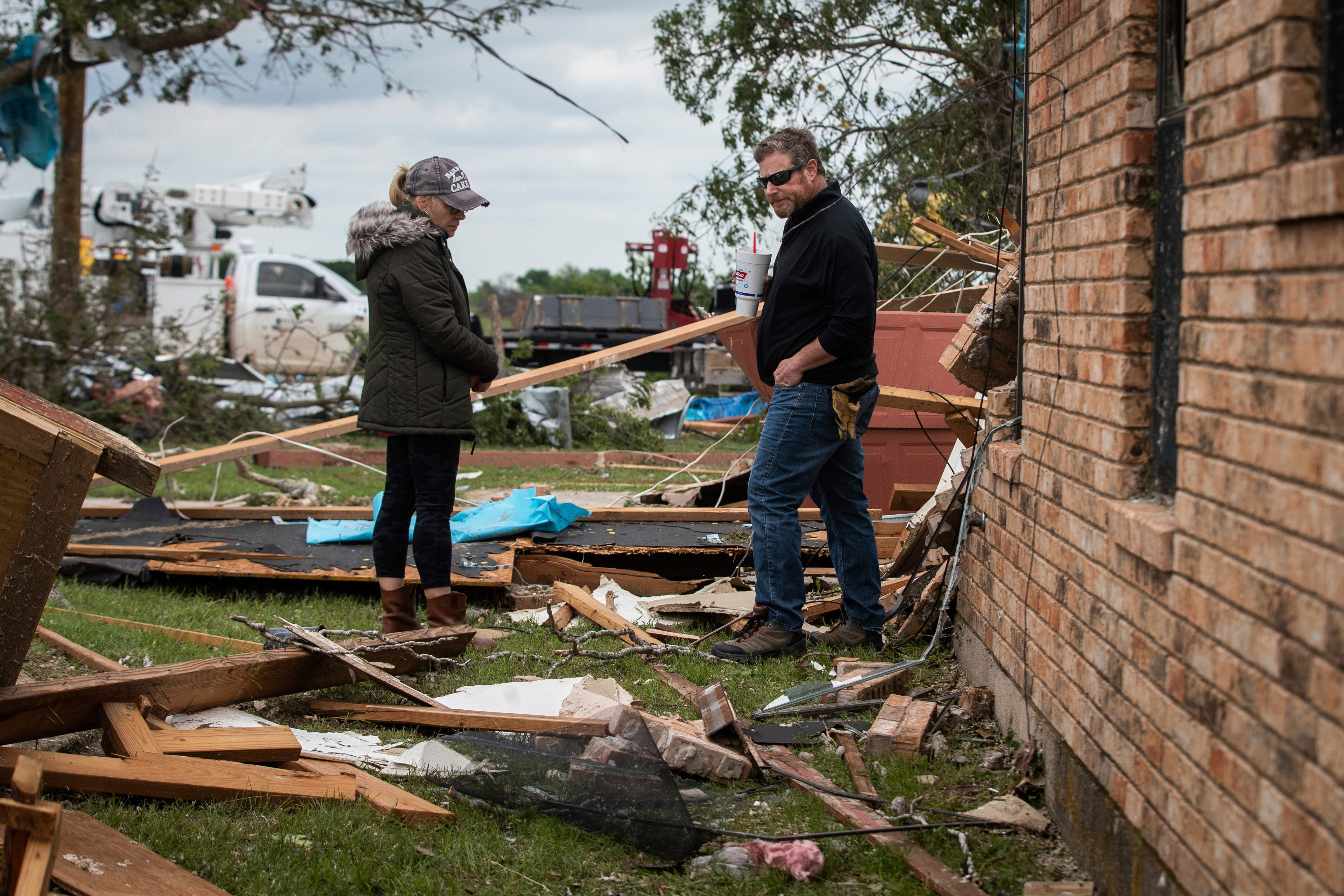 My first new house in 40 years and it s gone : Severe thunderstorms, tornadoes cause heavy damage across South; at least 3 dead