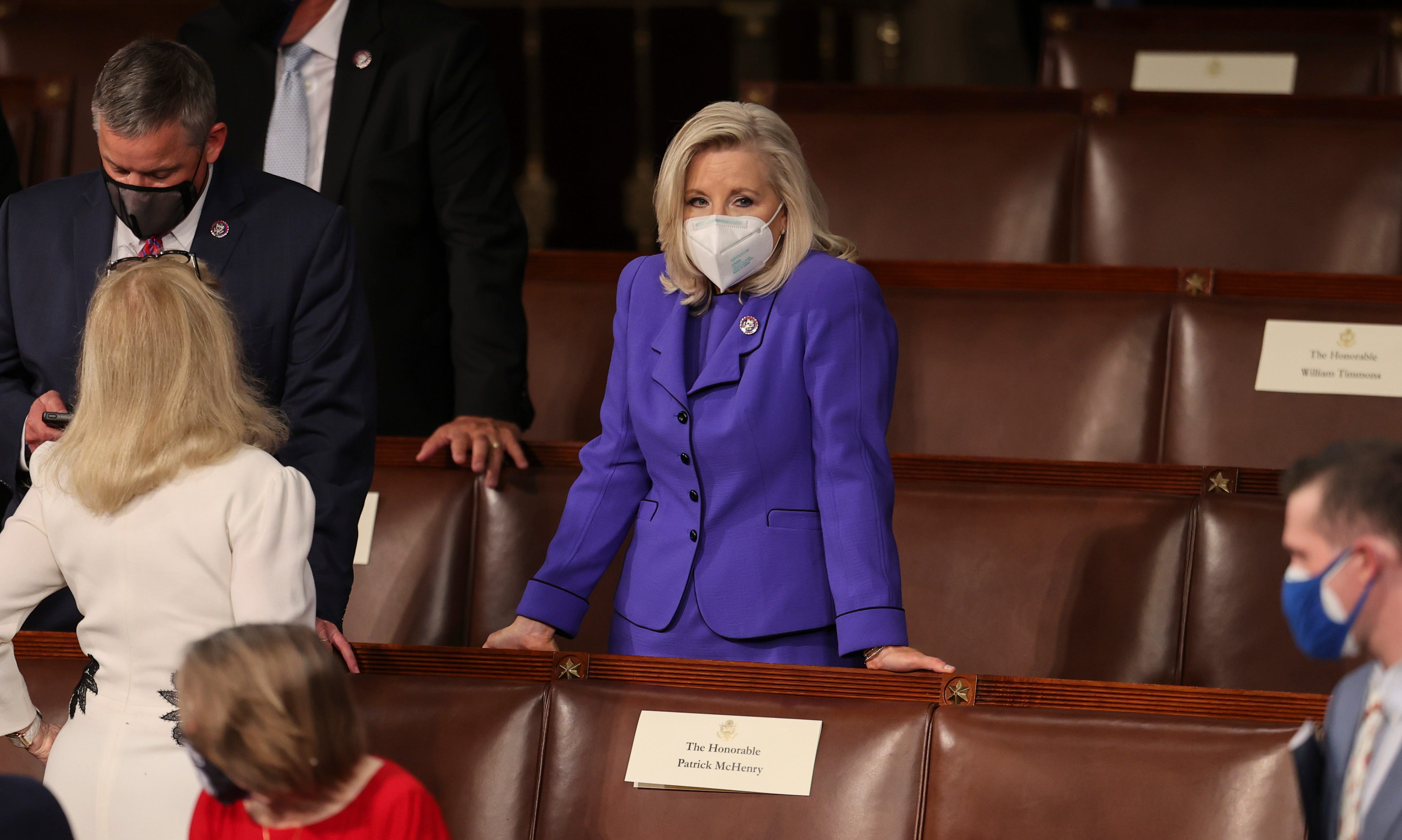 GOP Sen. Mitt Romney defends Rep. Liz Cheney amid Republican blowback:  Liz Cheney refuses to lie