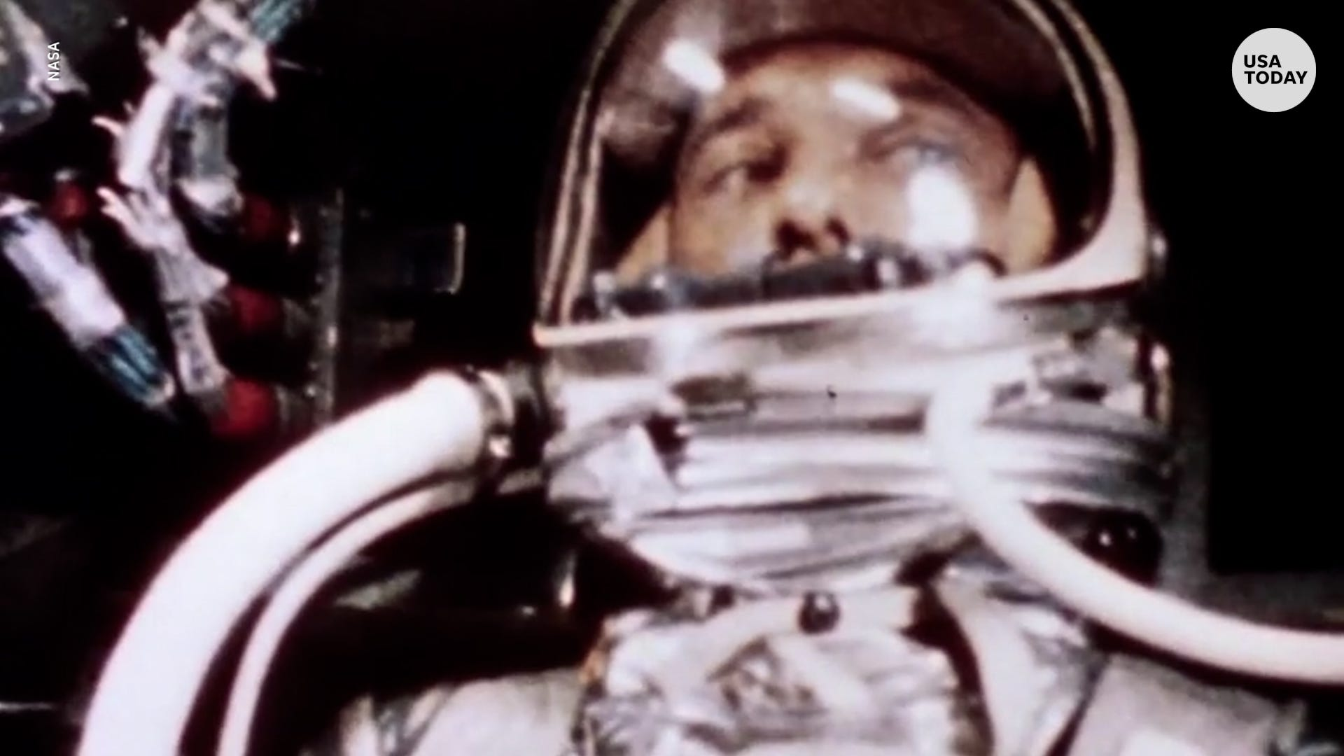 First American in space, Alan Shepard, used astronaut diaper before liftoff in 1961