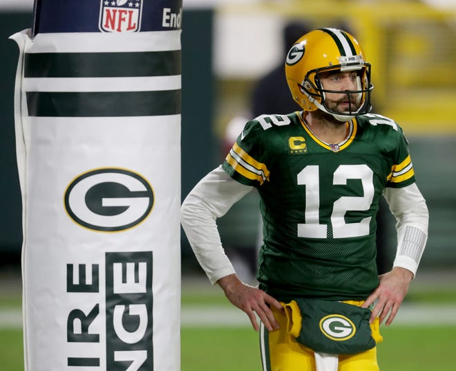 Has QB Aaron Rodgers played his last game in Green Bay?