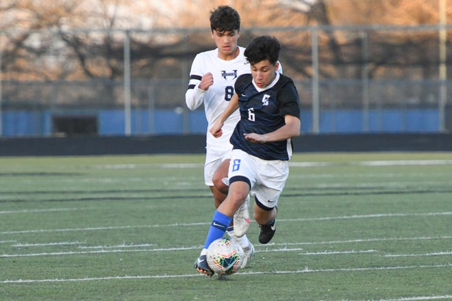 Cedar Creek's Alexis Denova was honored as the district's co-midfielder of the year by district coaches. He finished the season with seven goals and five assists.