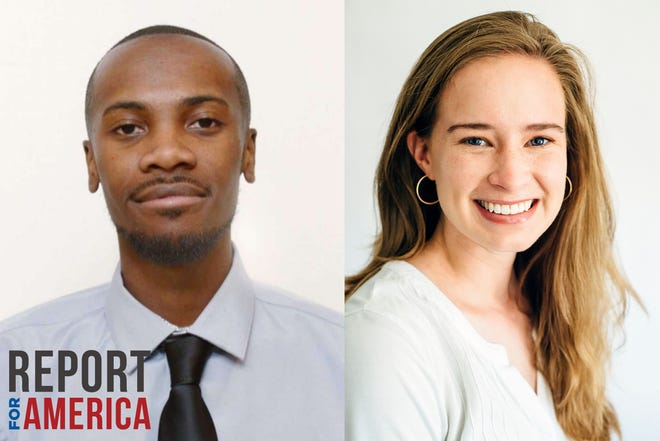 DJ SImmons, left, and Kayla Renie, right, will be joining the Athens Banner-Herald on June 1. These Report for America corps members will cover issues of equity, diversity an inclusivity in the Athens area.