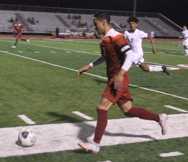 Ardmore senior Juan Lopez tallied a pair of goals Tuesday to help lead the Tigers to a 2-0 victory over Capitol Hill in the opening round of the Class 5A State Tournament.