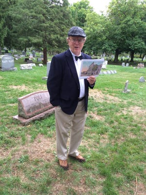 """Author and history teacher Rich McAlpine will give a talk on his latest book, """"Letters from the Blitz,"""" May 22 at the Yates County History Center."""