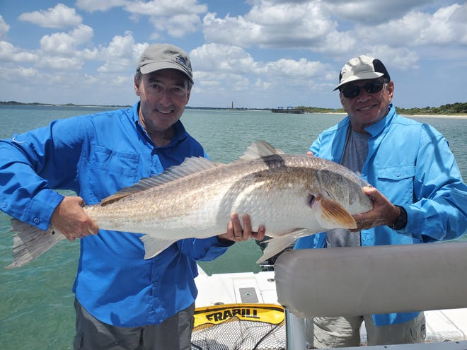 The redfish continue to bite in the Halifax River, according to Capt. Fred Robert.
