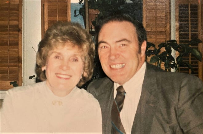 It will be a bittersweet reunion as Anne and Louis Richard mark a heavenly wedding anniversary this weekend.