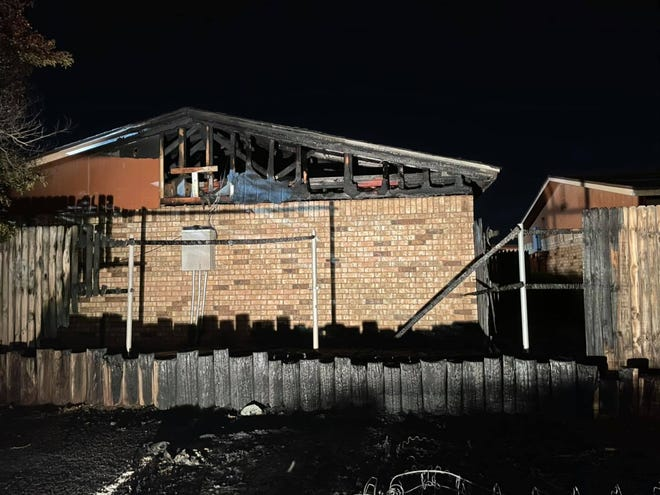 Around 10 p.m. Tuesday, Lubbock Fire Rescue was dispatched to a report of a dumpster fire in the 4600 block 52nd St. Crews arrived to find mattresses on fire that had spread to a wooden retaining wall and fencing. The fire from the fencing spread quickly into a four-unit apartment building at Lubbock Lakeway Apartments.