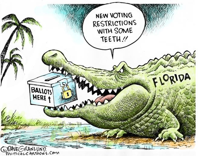 Today's editorial cartoon (May 6, 2021)