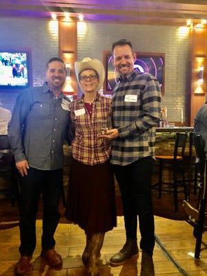 SMALL BUSINESS AWARD  -   AMERICAN ELM - TJ Richardson & Kevin Mauk, Owners