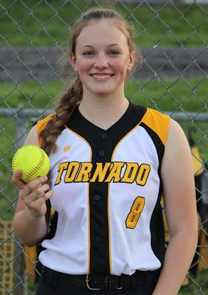 Alexa Shoemaker hit her eight home run of the season and 14th of her career on Tuesday against Frankfort, both all-time records for Keyser High School softball.