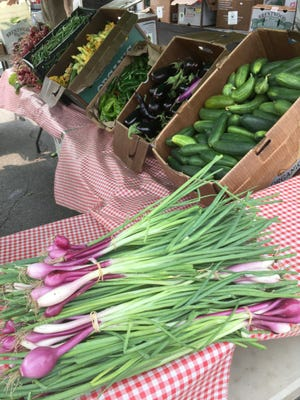 Locally grown produce is available at Mount Shasta Farmers Market, which begins May 17 on Castle Street.
