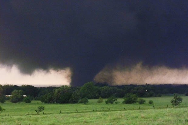 A new study indicates the number of tornadoes my be declining,