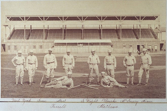 The 1879 National League champion Providence Grays.