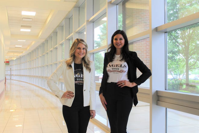 Jodi Luntz and Lindsay Zimmerman, co-chairs of the Aultman Women's Board's annual Angel Auction, have created a weeklong virtual version of the fundraiser, Calling All Angels, which kicks off Monday.