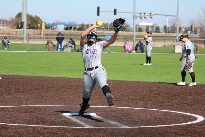 Mikayla Seay, a former Hononegah player who has been a standout on the mound and at the plate for this year's Rockford University softball squad, hit a walkoff grand slam Saturday to help seal the Regents first bid to the NACC postseason tournament.