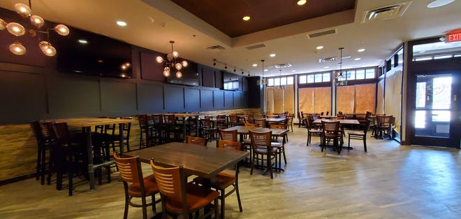 The interior of Three22 Kitchen & Cocktails, which will open this spring in downtown Aberdeen. It's in the same space once used by The Brass Kettle.