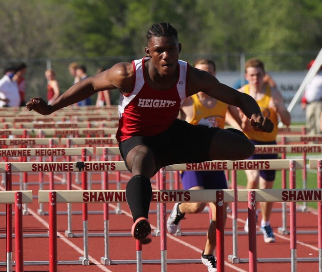 Just a sophomore, Shawnee Heights' Jeremiah Smith owns the top time in the state this year in the 110 hurdles, clocking a 14.34 in April. Smith also ranks No. 1 in the 100 and No. 2 in the 200 this season.