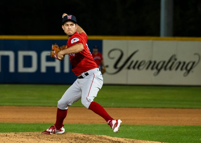 After a rough start, Worcester's Ryan Weber settled down and helped the WooSox earn the win on Saturday.