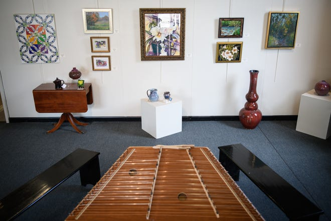 Cape Fear Studios launched an art exhibit, displaying and selling art of various mediums from their members. The exhibit will continue until June 22.