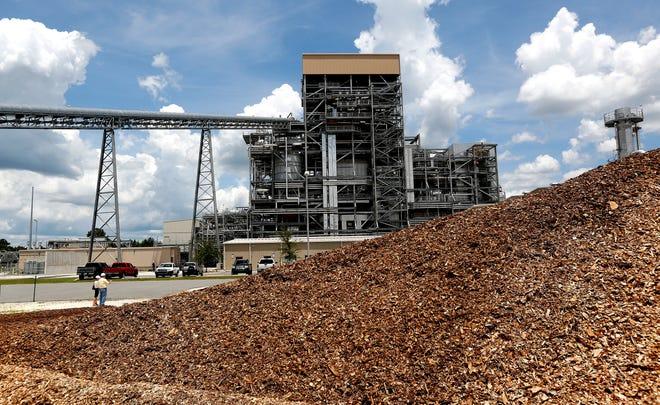 Gainesville Regional Utilities' biomass power plant