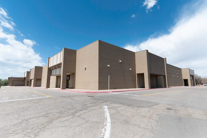 The former Sears building, located in the Pueblo Mall at 3201Dllon Drive, is one of many commercial real estate listings that are on the market in Pueblo.