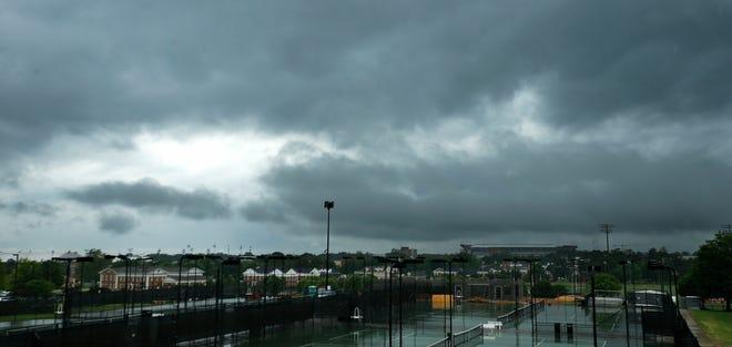 File photo of rainy weather in Tuscaloosa, Ala.