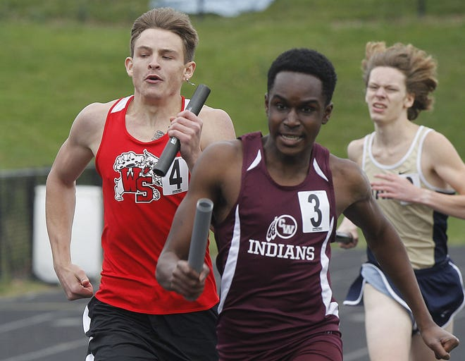 Elike Heh and the Canal Winchester boys track and field team will compete in the OCC-Capital meet May 13 and 15 at Westerville North.