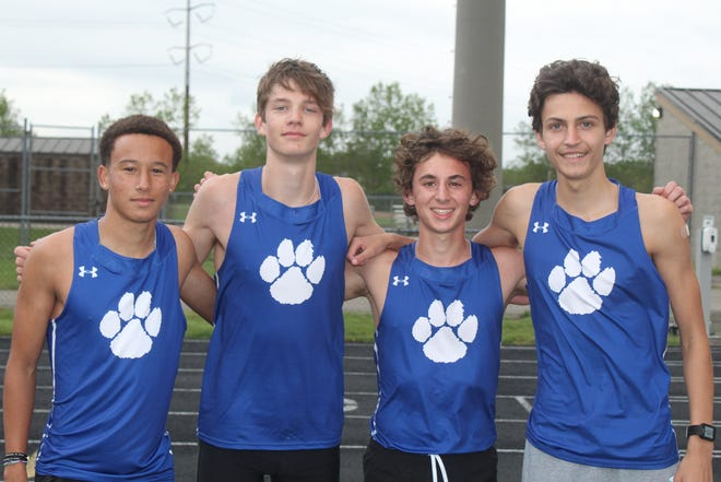 The Davidson boys 6,400-meter relay of R.J. Sagrilla, Nick Puhl, Nate Gilbert and Connor Ackley recorded the best time in the nation (17 minutes, 33.63 seconds) in the Freedom Relays on April 23 at Olentangy Liberty.