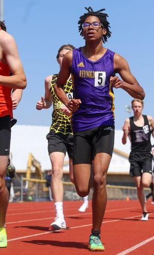 Marsellis Davis is among the key runners for the Reynoldsburg boys track and field team, which is about to enter the championship part of its schedule with the OCC-Buckeye and Division I district meets.