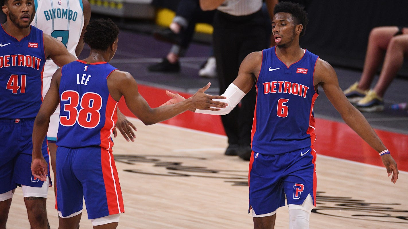 Hamidou Diallo delivers career night as Detroit Pistons fall to Charlotte Hornets, 102-99