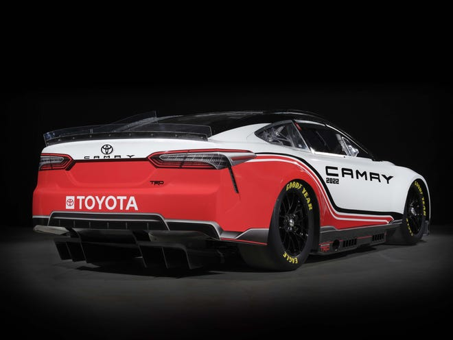 The all-new, 2022 NASCAR Next Gen Toyota Camry TRD gains a rear diffuser for better downforce.