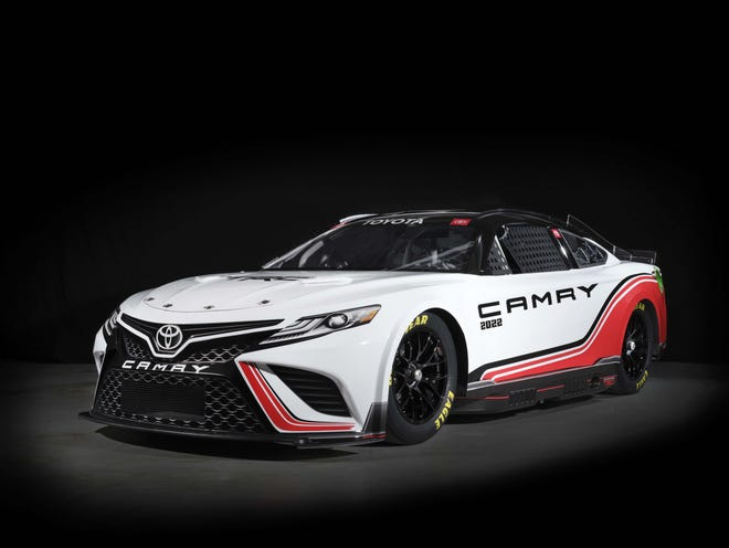 The 2022 NASCAR Next Gen Toyota Camry TRD will debut in February at Daytona 500.